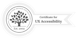 IXDF usability certificate